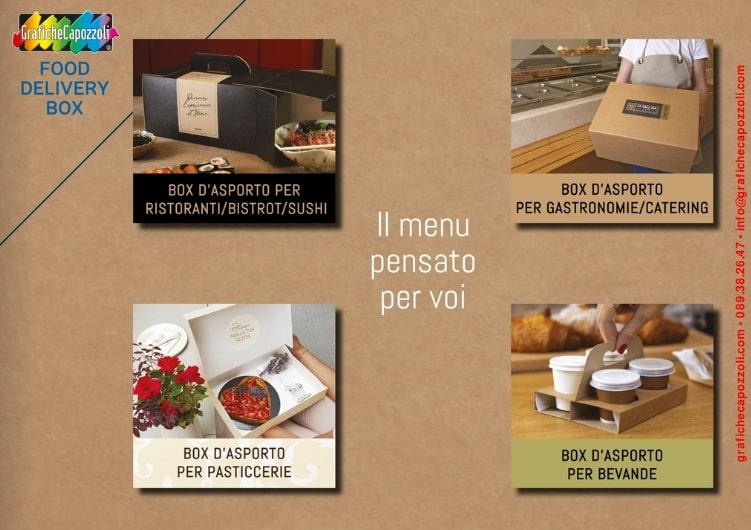 Catalogo online scatole d'asporto cibo